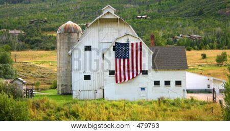 Barn In Park City, Utah