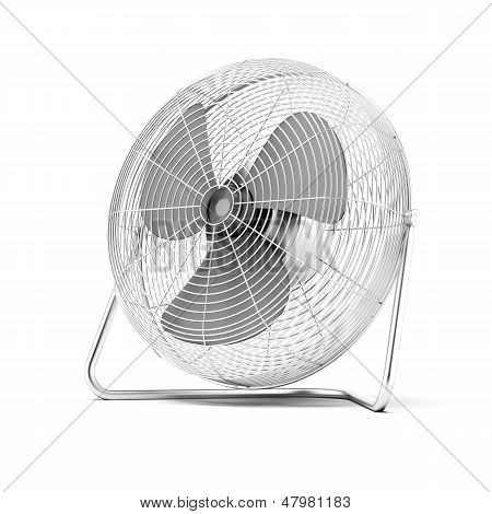 Floor mounted powerful fan