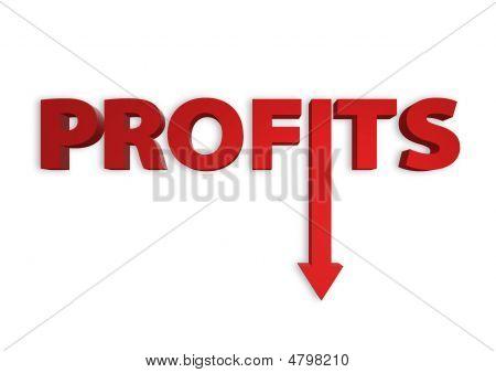Profits Down