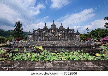 Buddhist Monastery In Bali