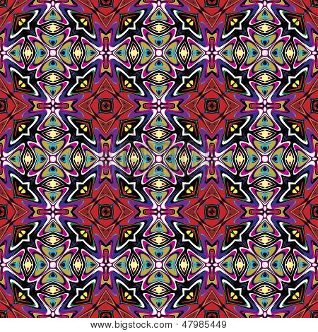 Fabric design from Latin America