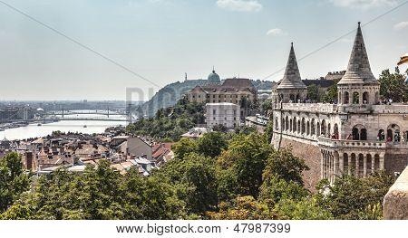 Fisherman's Bastion Budapest.