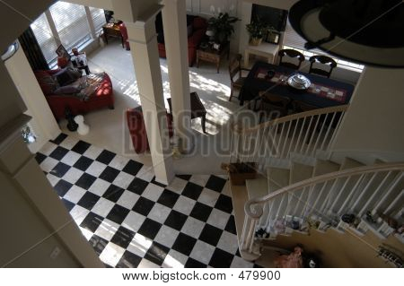 Checkered Foyer