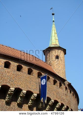 Barbicn Of Cracow,detail