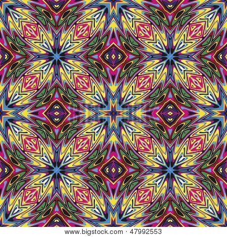 Fabric design from Latin America