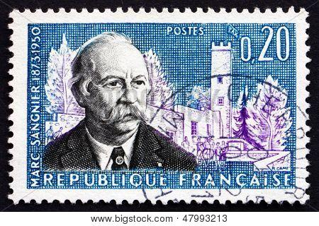 Postage Stamp France 1960 Marc Sangnier