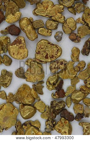 Natural California USA Placer Gold Nuggets