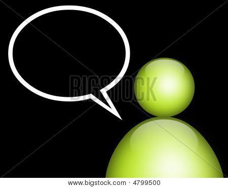 Green Person