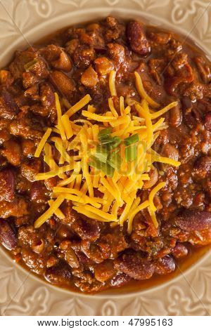 Spicy Homemade Chili Con Carne Soup