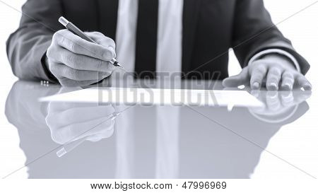 Signing And Reading Legal Papers