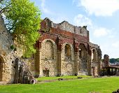 Ruin grounds of St Augustine's Abbey in Canterbury, Kent,  England