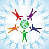 pic of coexist  - Vector tolerance concept  - JPG