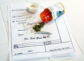 picture of just say no  - Medical Marijuana prescription with a  - JPG