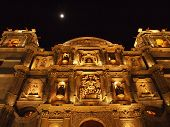 Mexican church facade