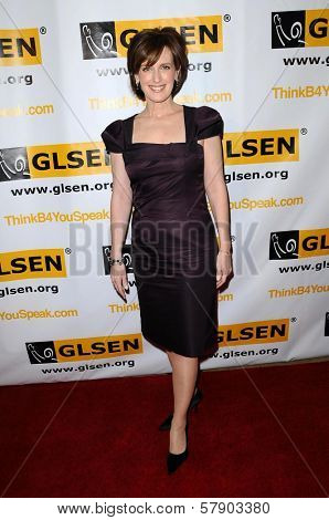 Ann Sweeny  at the 4th Annual GLSEN Respect Awards. Beverly Hills Hotel, Beverly Hills, CA. 10-10-08
