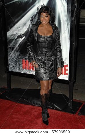 Tichina Arnold  at the Los Angeles Premiere of 'Max Payne'. Grauman's Chinese Theatre, Hollywood, CA. 10-13-08
