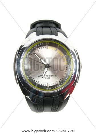 Crome Plated Wrist Watch