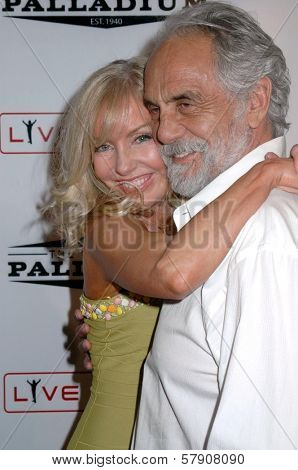Shelby Chong and Tommy Chong  at the Grand Reopening of The Hollywood Palladium. Hollywood Palladium, Hollywood, CA. 10-15-08
