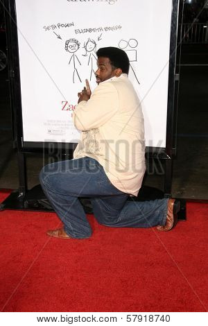 Craig Robinson  at the Los Angeles Premiere of 'Zack and Miri make a porno'. Grauman's Chinese Theater, Hollywood, CA. 10-20-08