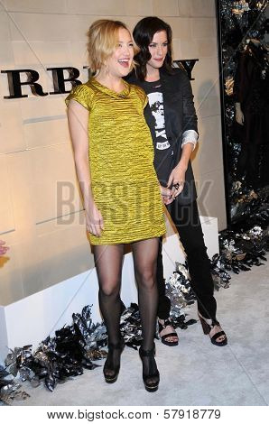 Kate Hudson and Liv Tyler  at the Burberry Beverly Hills Store Re-Opening. Burberry Beverly Hills Store, Beverly Hills, CA. 10-20-08