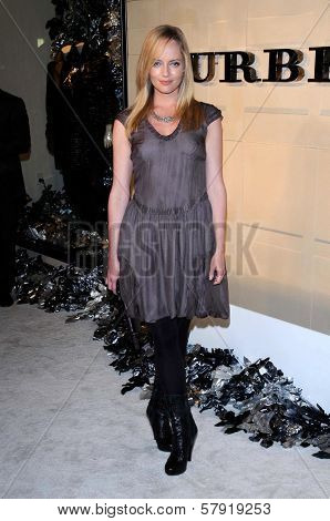 Marley Shelton  at the Burberry Beverly Hills Store Re-Opening. Burberry Beverly Hills Store, Beverly Hills, CA. 10-20-08