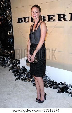 Emily Vancamp  at the Burberry Beverly Hills Store Re-Opening. Burberry Beverly Hills Store, Beverly Hills, CA. 10-20-08