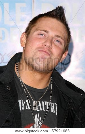 The Miz  at the World Premiere of 'Role Models'. Mann's Village Theatre, Westwood, CA. 10-22-08