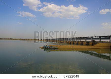 Kotri Barrage, Sindh, Pakistan