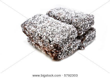 Homemade lamington coconut cake2