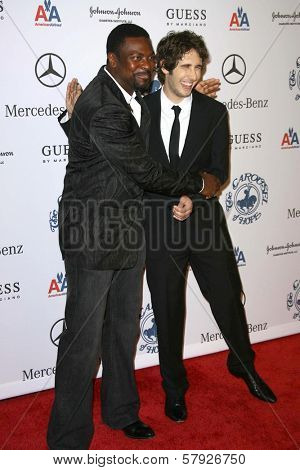 Chris Tucker and Josh Groban  at the 30th Annual Carousel of Hope Ball to benefit the Barbara Davis Center for Childhood Diabetes, Beverly Hilton, Beverly Hills, CA. 10-25-08