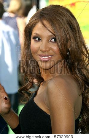 Toni Braxton  at the Los Angeles Premiere of 'Madagascar Escape 2 Africa'. Mann Village Theatre, Westwood, CA. 10-26-08