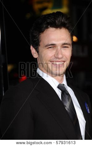 James Franco  at the Focus Features World Premiere of MILK, The Castro Theatre, San Francisco, CA. 10-28-08