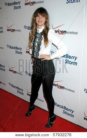Juliette Lewis  at the Launch Party for Blackberry Storm. Avalon Hollywood, Hollywood, CA. 10-29-08