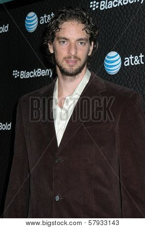 Pau Gasol  at the Launch Party for Blackberry Bold. Private Residence, Los Angeles, CA. 10-30-08