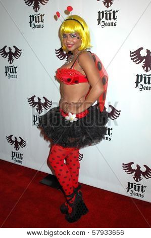 Christina Milian  at the Pur Jeans Halloween Bash. STK, Los Angeles, CA. 10-31-08