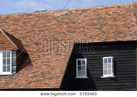 Old Building At Bosham Quay. West Sussex. England