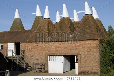 Oast Houses, Kent, England