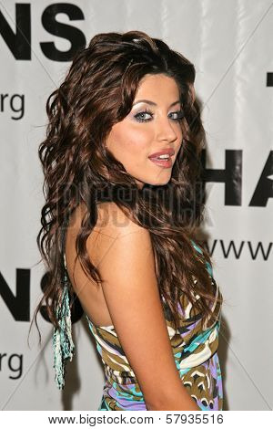 Leyla Milani  at the Thalians 53rd Anniversary Ball, honoring Clint Eastwood, to benefit  Cedars-Sinai Medical Center, Beverly Hilton Hotel, Beverly Hills, CA. 11-02-08