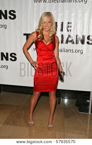 Brooke Long at the Thalians 53rd Anniversary Ball, honoring Clint Eastwood, to benefit  Cedars-Sinai Medical Center, Beverly Hilton Hotel, Beverly Hills, CA. 11-02-08