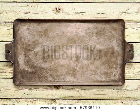 Old Rustic Baking Sheet