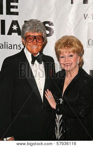 Debbie Reynolds  at the Thalians 53rd Anniversary Ball, honoring Clint Eastwood, to benefit  Cedars-Sinai Medical Center, Beverly Hilton Hotel, Beverly Hills, CA. 11-02-08