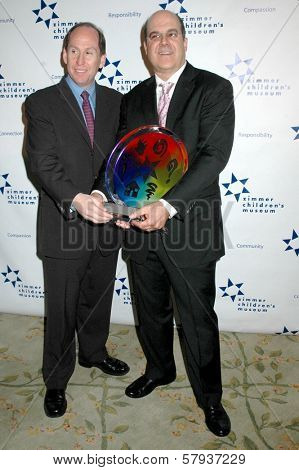 Andrew Kaplan and Jeff Wachtel  at Zimmer Children's Museum's 8th Annual Discovery Award Dinner. The Beverly Hills Hotel, Beverly Hills, CA. 11-06-08