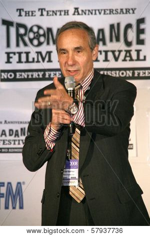 Lloyd Kaufman  at the Press Conference for the 10th Anniversary Troma Dance Film Festival. American Film Market, Lowes Santa Monica Beach Hotel, Santa Monica, CA. 11-06-08