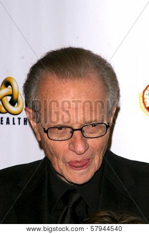 Larry King  at the party celebrating his 75th Birthday and 20th Anniversary of Larry King Cardiac Foundation. Hollywood and Highland Grand Ballroom, Hollywood, CA. 11-15-08