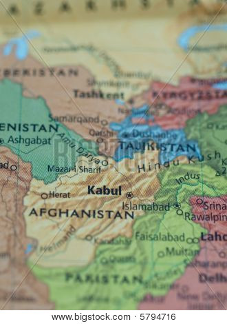 Afghanistan Pakistan Map
