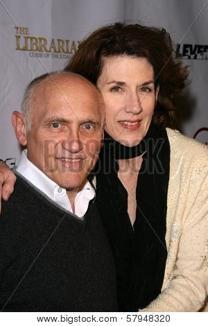 Armin Shimmerman and Kitty Swink  at the TNT Wrap Party for 'The Librarian' and 'Leverage'. Cabana Club, Hollywood, CA. 11-19-08