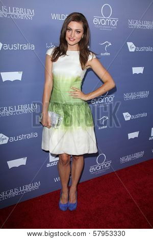Phoebe Tonkin at the Australians in Film 8th Annual Breakthrough Awards, Hotel Intercontinental, Century City, CA 06-27-12