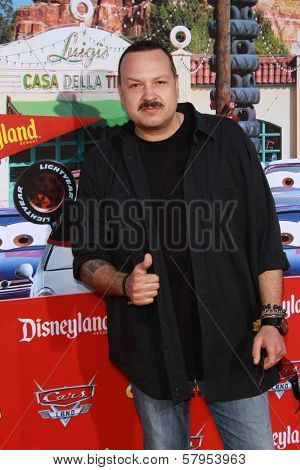 Pepe Aguilar at the Grand Opening of