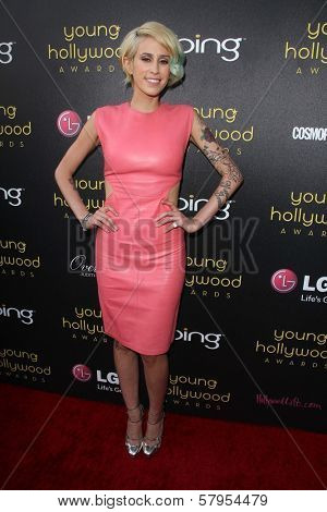 Dev at the 14th Annual Young Hollywood Awards, Hollywood Athletic Club, Hollywood, CA 06-14-12