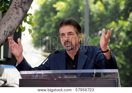 Joe Mantegna  at Hollywood Walk of Fame ceremony honoring Charles Durning. Hollywood Boulevard, Hollywood, CA. 07-31-08
